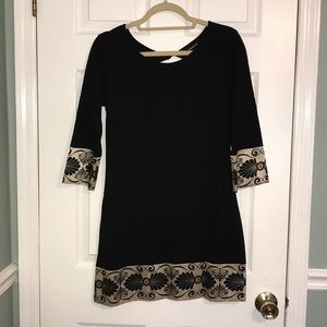 Black dress from Bebe
